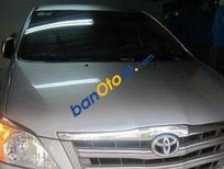 Bán xe cũ Toyota Innova MT đời 2014, màu bạc số sàn