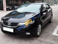 Cần bán gấp Kia Forte sản xuất 2013, màu đen xe gia đình, giá tốt