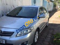 Cần bán xe cũ Toyota Corolla Altis AT đời 2010, màu bạc