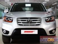 Cần bán gấp Hyundai Santa Fe SLX 2.0AT eVGT đời 2009, màu bạc, xe nhập, số tự động