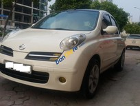 Bán ô tô Nissan Micra 1.2AT sản xuất 2007, màu trắng, nhập khẩu, giá tốt