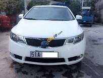 Cần bán xe Kia Forte 1.6SX đời 2011, màu trắng chính chủ, 485tr