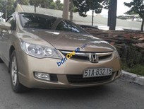 Xe Honda Civic 2.0 đời 2008, màu vàng xe gia đình