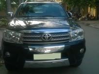 Cần bán Toyota Fortuner 2010, màu đen