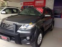 Cần bán xe cũ Toyota Fortuner V sản xuất 2012, màu xám