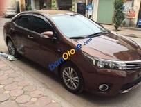 Cần bán Toyota Corolla altis AT đời 2015, màu nâu