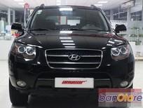 Xe Hyundai Santa Fe 2.7 MT đời 2008, màu đen, nhập khẩu chính hãng, số sàn