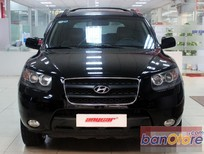 Bán Hyundai Santa Fe 2.7MT đời 2008, màu đen, nhập khẩu, chính chủ, 519tr