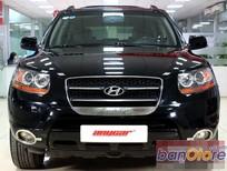 Bán Hyundai Santa Fe MLX 2.2 AT 4WD đời 2007, màu đen, nhập khẩu nguyên chiếc, số tự động