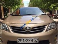 Bán xe cũ Toyota Corolla XLI sản xuất 2011, màu vàng, nhập khẩu, giá 660tr