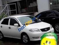 Cần bán Toyota Vios MT đời 2007, màu trắng đã đi 50000 km, giá tốt