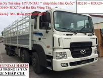 Bán xe tải Hyundai 4 chân 18 tấn giá rẻ nhất tại Bà Rịa Vũng Tàu, mua xe trả góp tại BRVT 0938 699 913