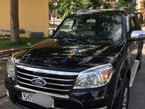 Cần bán xe Ford Everest AT đời 2010, màu đen số tự động