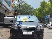 Cần bán xe Daewoo Gentra SX đời 2009, màu đen