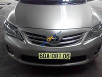 Cần bán Toyota Corolla altis 1.8G đời 2013, màu bạc