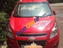 Bán xe Chevrolet Spark đời 2014, màu đỏ