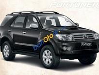 Bán Toyota Fortuner V đời 2011, màu đen, 750 triệu