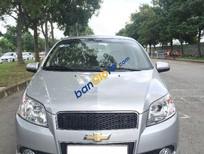 Cần bán lại xe Chevrolet Aveo 1.5 AT đời 2014, màu bạc,   xe đẹp như mới