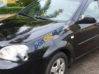 Bán Daewoo Lacetti MT đời 2008, màu đen số sàn giá cạnh tranh