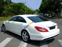 Bán xe cũ Mercedes CLS class đời 2012, màu trắng số tự động