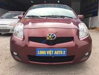 Cần bán xe Toyota Yaris AT đời 2010, màu nâu, nhập khẩu chính hãng, 520tr