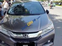 Bán ô tô Honda City 1.5AT năm 2015, màu xám