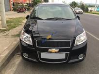 Cần bán gấp Chevrolet Aveo LTZ 1.5AT năm 2014, màu đen xe gia đình, 405 triệu