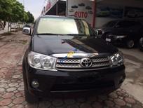 Bán Toyota Fortuner 2.7V 2009, màu đen