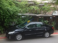 Bán ô tô Toyota Corolla altis 1.8G AT đời 2009, màu đen, 580 triệu