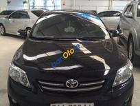 Bán xe cũ Toyota Corolla Altis 1.8MT đời 2009, màu đen số sàn, 590tr