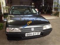 Cần bán lại xe Peugeot 405 đời 1985, màu đen