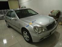 Bán Mercedes C180 đời 2003, màu bạc, nhập khẩu chính hãng