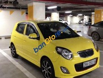 Bán xe Kia Morning SX 2010, màu vàng, số tự động