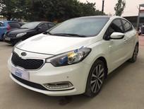 Cần bán xe Kia K3 2.0AT đời 2014, màu trắng, giá tốt