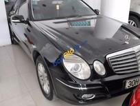Cần bán xe cũ Mercedes E280 3.0AT đời 2006, màu đen số tự động