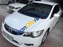 Bán xe cũ Honda Civic 1.8AT đời 2011, màu trắng số tự động, giá 605tr