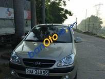 Cần bán xe Hyundai Getz MT sản xuất 2009, màu vàng