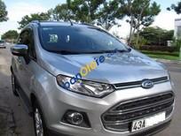 Cần bán Ford EcoSport AT đời 2015, màu bạc số tự động, giá chỉ 600 triệu