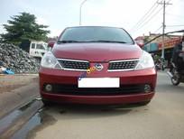 Bán Nissan Tiida đời 2008, màu đỏ, nhập khẩu số tự động, 365 triệu
