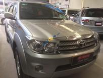Bán Toyota Fortuner 2.7V 2009, màu bạc