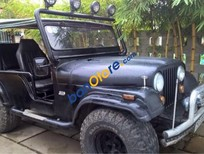 Cần bán gấp Jeep CJ năm 1980, màu xám, nhập khẩu
