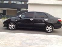 Cần bán xe Toyota Vios 1.5 G 2007, màu đen, 280 triệu