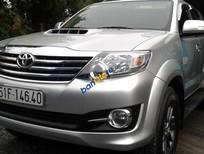 Cần bán xe Toyota Fortuner G đời 2015, màu bạc, máy dầu, một chủ