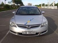 Cần bán gấp Honda Civic 1.8AT sản xuất 2008, màu bạc số tự động giá cạnh tranh