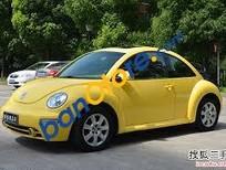 Bán ô tô Volkswagen Beetle số sàn đăng ký 2005, màu vàng xe gia đình, giá chỉ 220tr