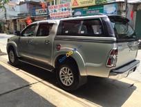 Bán Toyota Hilux 3.0G đời 2012, màu bạc, giá tốt