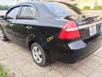 Bán Daewoo Gentra SX sản xuất 2009, màu đen xe gia đình giá cạnh tranh