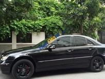 Bán xe Mercedes C240 đời 2004, màu đen, giá 440tr