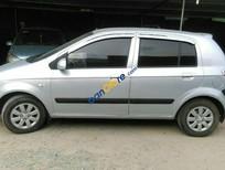 Bán Hyundai Getz sản xuất 2008, màu bạc, nhập khẩu nguyên chiếc xe gia đình, giá chỉ 220 triệu