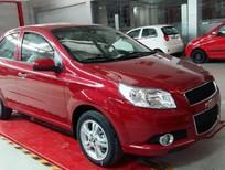 Cần bán Chevrolet Aveo LT năm 2016, màu đỏ, nhập khẩu, 445tr